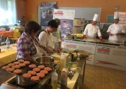 Kuchárky na praktickom školení v Českej Lípe