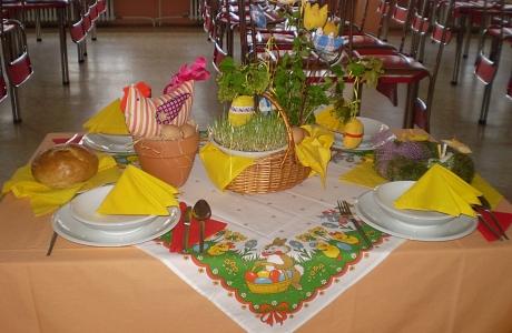 Nedílnou součástí školní jídelny je i její prostředí